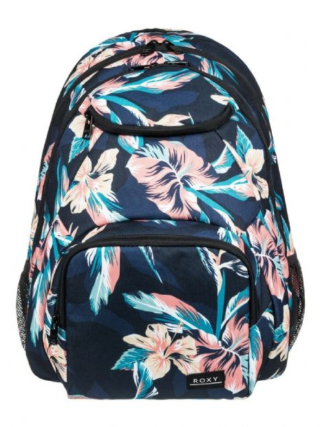 ROXY WOMENS BACKPACK BAG.SHADOW SWELL FLOWERED LAPTOP PADDED RUCKSACK 24L.S20 59